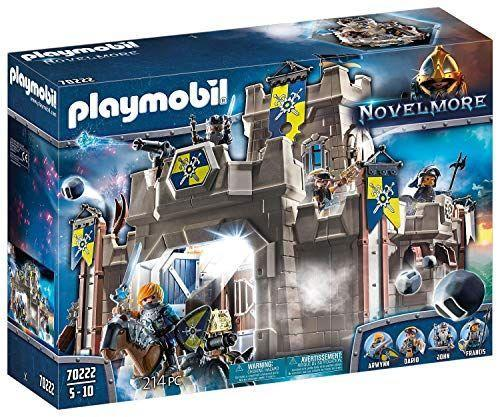 "<p><strong>Playmobil</strong></p><p>amazon.com</p><p><strong>$50.79</strong></p><p><a href=""https://www.amazon.com/dp/B07VXR9VH7?tag=syn-yahoo-20&ascsubtag=%5Bartid%7C10050.g.34485299%5Bsrc%7Cyahoo-us"" rel=""nofollow noopener"" target=""_blank"" data-ylk=""slk:Shop Now"" class=""link rapid-noclick-resp"">Shop Now</a></p><p>Add a medieval flair to their Playmobil collection with this fortress set. With functioning cannonballs, this set will add a fun twist to their next game of make-believe.</p>"