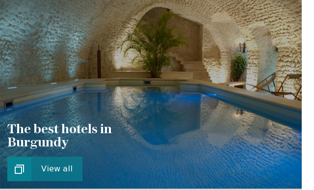 The best hotels in Burgundy