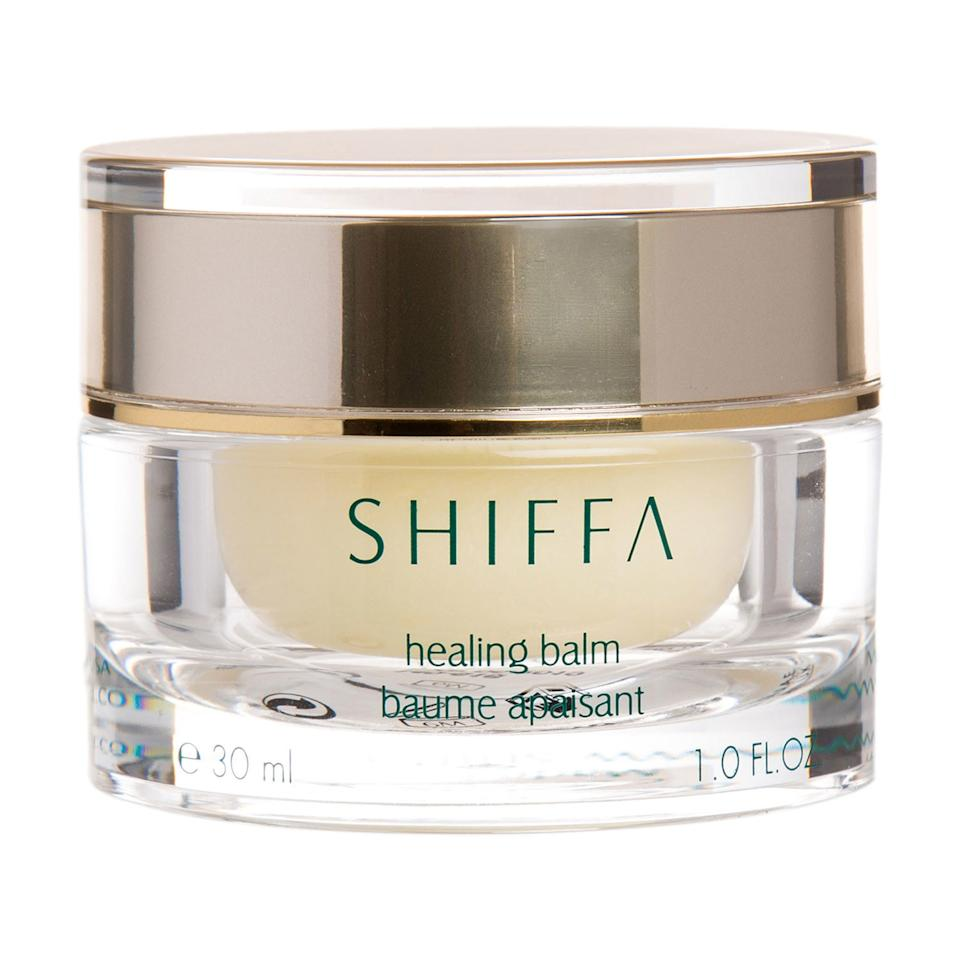 """<p>The Shiffa Healing Balm is unique in that it's formulated with St. John's Wort, a powerful anti-inflammatory flower that relieves itchiness, burning, and rashes of any kind. This salve also promotes elastin production, meaning it's helpful in <a href=""""https://www.allure.com/gallery/the-12-best-eye-creams?mbid=synd_yahoo_rss"""">diminishing fine lines</a> and plumping the skin with moisture.</p> <p><strong>$106</strong> (<a href=""""https://shop-links.co/1633125609664594669"""" rel=""""nofollow"""">Shop Now</a>)</p>"""
