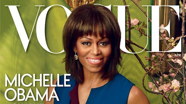 Michelle Obama Gets Second Vogue Cover