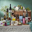 """<p>Nothing says Valentine's day more than a Fortnum & Mason hamper for two. This fine wine celebration collection is filled with tipples from breakfast teas to aromatic coffee beans, and of course wines including Brut Reserve Champagne NV, Barossa Valley Shiraz, Pouilly Fume and even a bottle of English Cassis. To round things off, there's also treats in the form of a traditional stilton jar, cheese straws and a generous helping of antipasti.</p><p>£250, <a href=""""https://www.fortnumandmason.com/the-celebration-hamper"""" rel=""""nofollow noopener"""" target=""""_blank"""" data-ylk=""""slk:Fortnum & Mason"""" class=""""link rapid-noclick-resp"""">Fortnum & Mason</a>.</p>"""