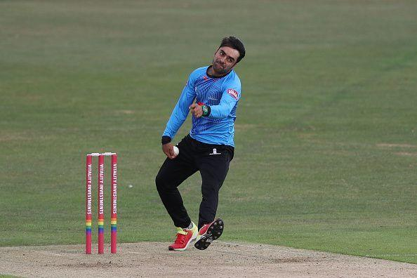 Rashid Khan led Afghanistan in the World Cup qualifiers