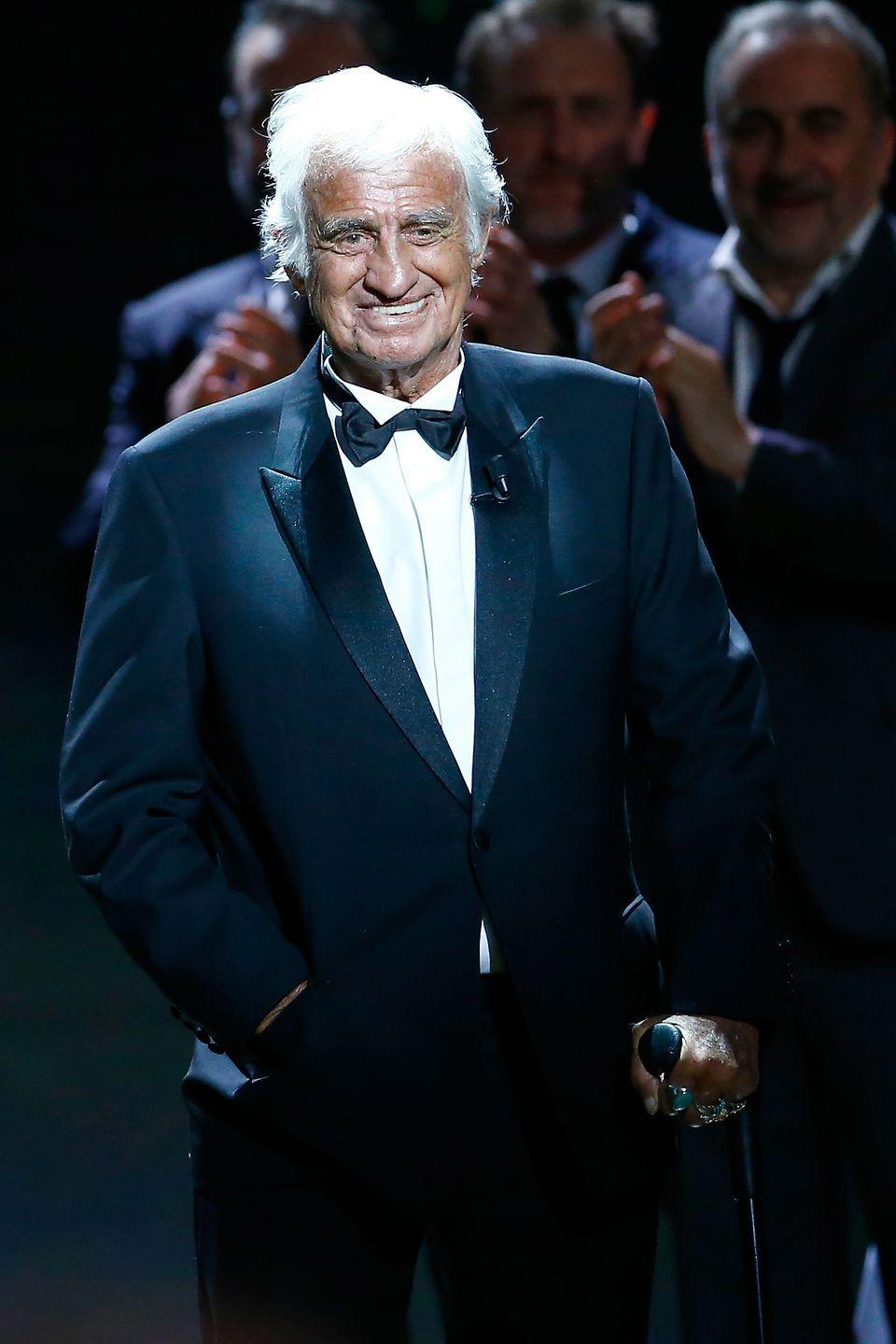 <p>At the Cesar Film Awards Ceremony at Salle Pleyel in 2017</p>