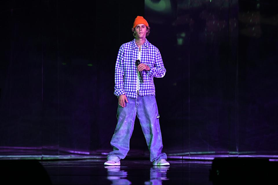 Justin Bieber reflects on career low. (Photo: Getty Images)