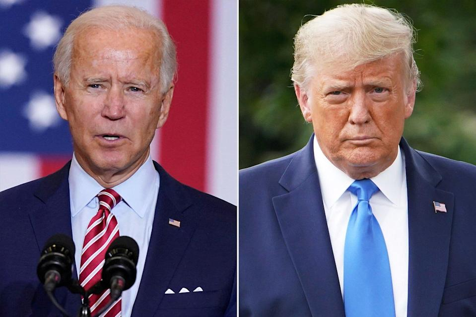 Joe Biden Visits Son's Grave on Election Day as President Trump Prepares for White House Event