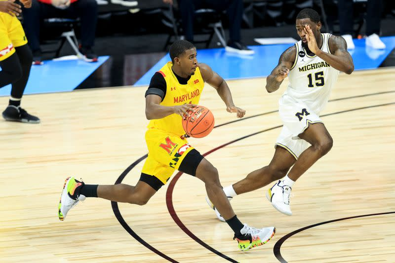 NCAA Basketball: Big Ten Conference Tournament-Maryland vs Michigan