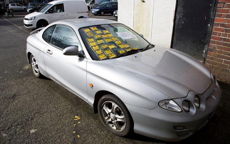 parking fines  - Credit: News Dog Media