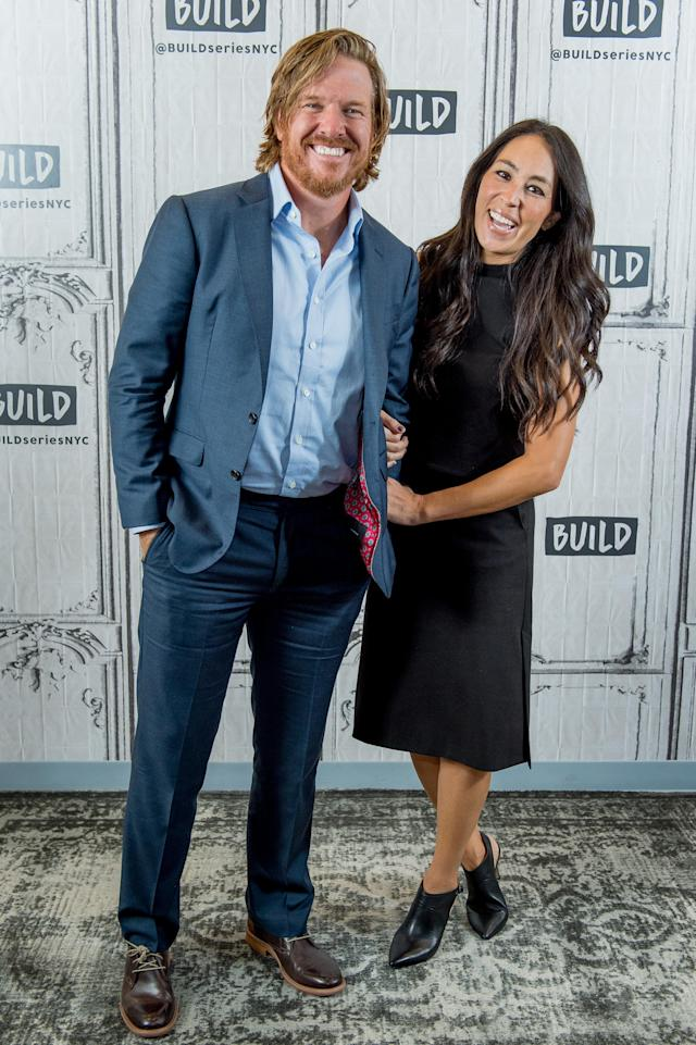 Chip and Joanna Gaines of 'Fixer Upper' fame (Photo: Getty Images)