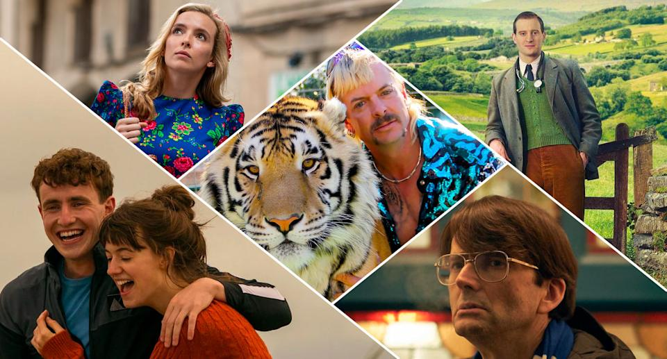 Our 2020 TV obsessions included Tiger King, All Creatures, Des, Killing Eve, and Normal People.