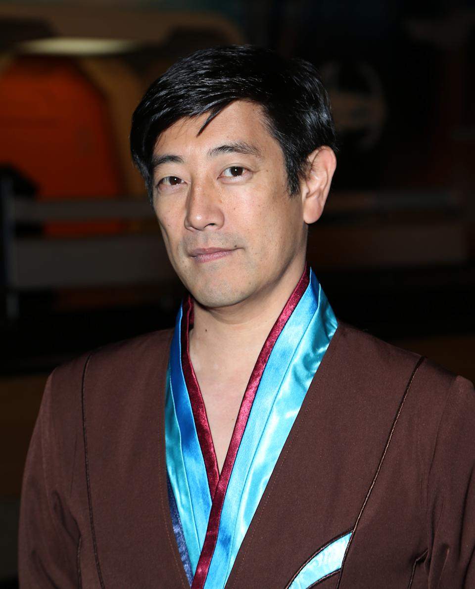Grant Imahara during the 14th annual official Star Trek convention at the Rio Hotel & Casino on August xx, 2015 in Las Vegas, Nevada.
