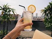 """<p>Does living a healthy lifestyle mean giving up booze for good? Nope! """"You can totally have a few drinks a week and it isn't going to kill your healthy lifestyle,"""" Lindsay Wandzilak, NASM certified trainer, nutritionist, and founder of <a href=""""https://urldefense.com/v3/__https:/www.mamayousweaty.com/the-daily__;!!N96JrnIq8IfO5w!1Do-pHSlkkkLGRGWsXqI3434efwWyAkOAg3SpDX0p5o4lOsakZWl1zReANjcZg5b3nQ5$"""" rel=""""nofollow noopener"""" target=""""_blank"""" data-ylk=""""slk:The Daily"""" class=""""link rapid-noclick-resp"""">The Daily</a>, notes. </p><p>If you're going out for a drink or two, Wandzilak recommends opting for tequila. """"Tequila is plant-based and our bodies do a better job metabolizing it, meaning less of a hangover, less inflammation, less starch-based calories and belly fat,"""" she says. """"Tequila in moderation with simple and fresh mixers like fresh squeezed lime juice, water, and agave are easier for the body to metabolize as far as liquors go."""" </p>"""
