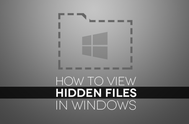Here's our guide on how to show hidden files in Windows 10 and older