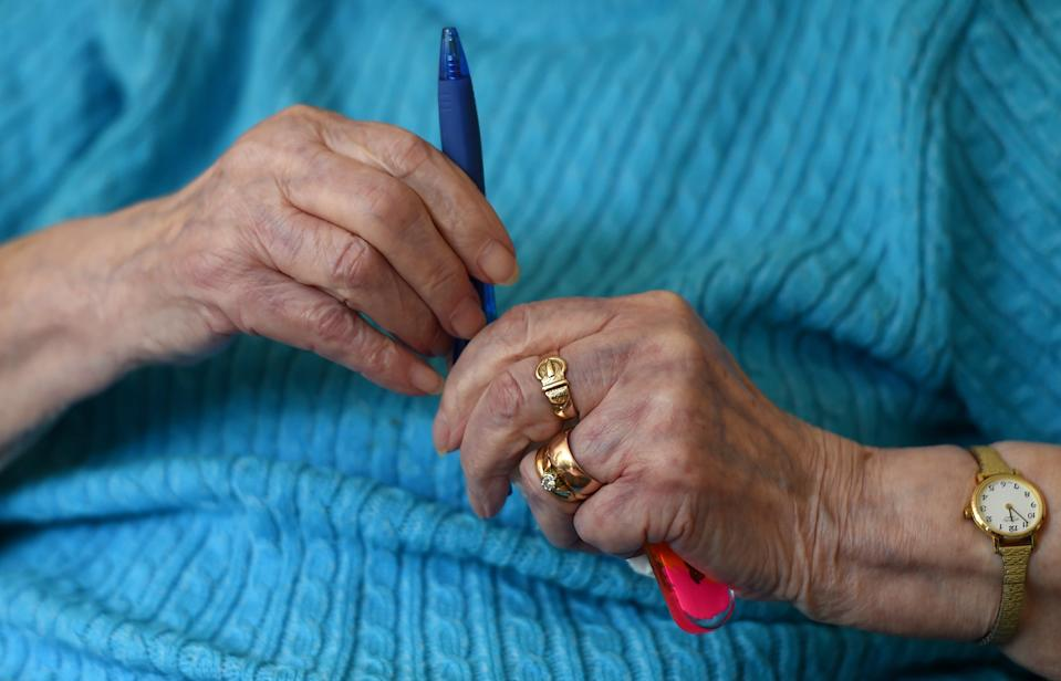 People with the highest levels of activity developed dementia at age 94 on average(Joe Giddens/PA) (PA Archive)