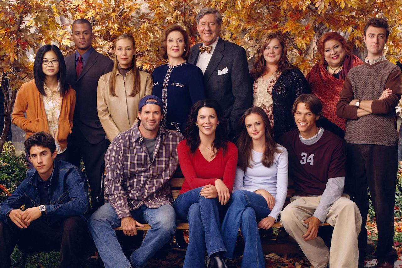 """In <a href=""""https://ew.com/creative-work/the-morning-show/""""><em>The Morning Show</em></a>, there's mention of something called <em>Gilmore Girls: The Musical</em>, which sadly doesn't exist in real life (but should). So, we've gone ahead and imagined the musical numbers that would make up the Stars Hollow-based show."""