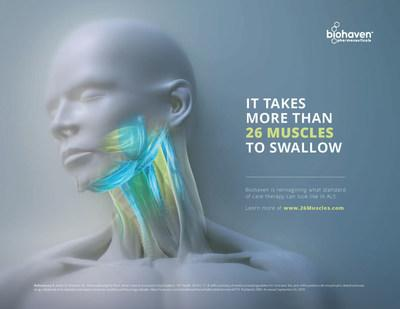 Figure 1: Biohaven's Dysphagia in ALS Awareness Campaign: imagery.