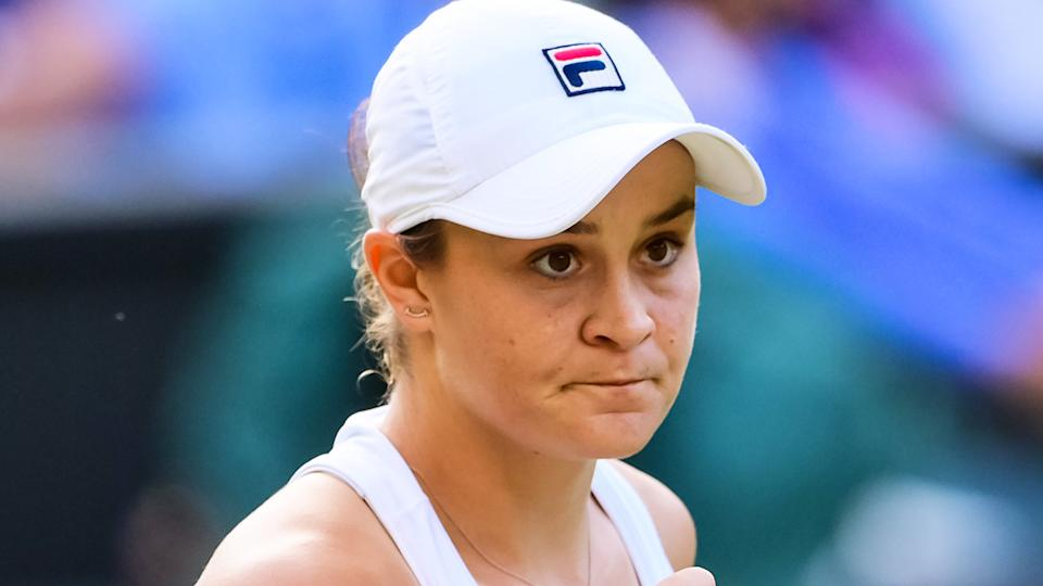 Ash Barty is hoping to win Wimbledon 50 years after Indigenous Australian Evonne Goolagong Cawley won the crown. (Photo by TPN/Getty Images)