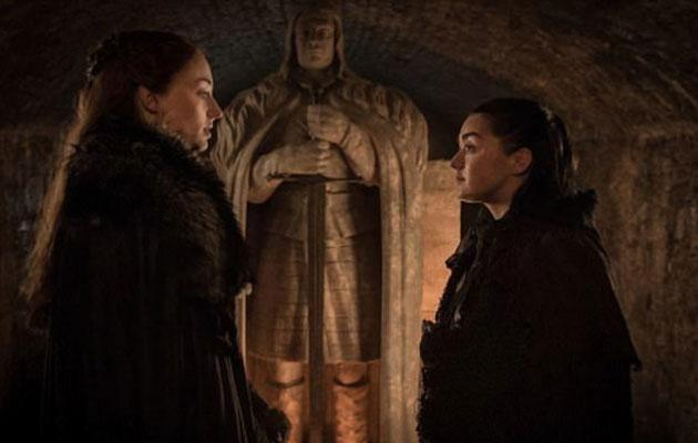 How will things end for the Stark sisters? Source: HBO