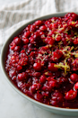 """<p>A mix of orange and lemon zest makes this relish fresh and tangy. </p><p>Get the recipe from <a href=""""https://www.delish.com/cooking/recipe-ideas/a22553444/homemade-fresh-cranberry-relish-recipe/"""" rel=""""nofollow noopener"""" target=""""_blank"""" data-ylk=""""slk:Delish"""" class=""""link rapid-noclick-resp"""">Delish</a>.</p>"""