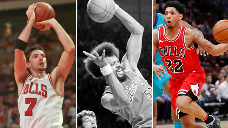 It's National Left-Hander's Day, so we ranked every lefty to play for the Bulls