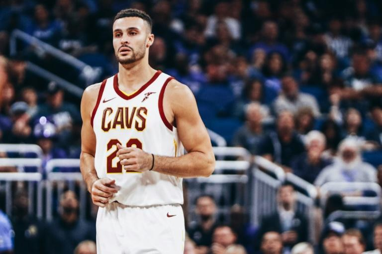 Cleveland Cavaliers forward Larry Nance Jr. wants the NBA to consider pre-existing conditions such as his Crohn's disease when looking at plans to resume the 2019-20 season that was halted in mid-March by the coronavirus pandemic (AFP Photo/Harry Aaron)