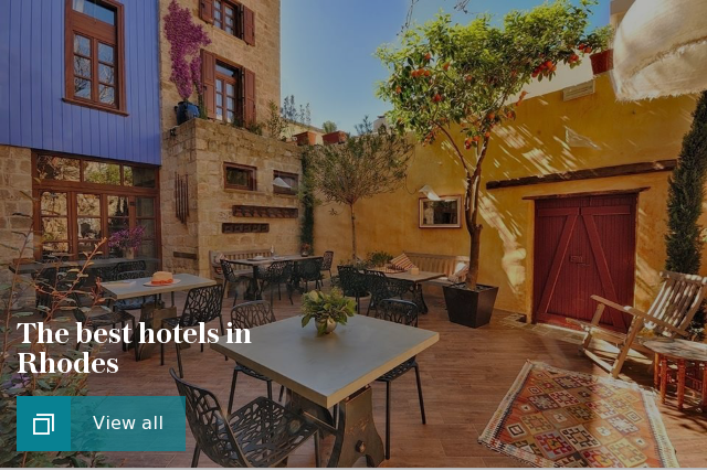 The best hotels in Rhodes