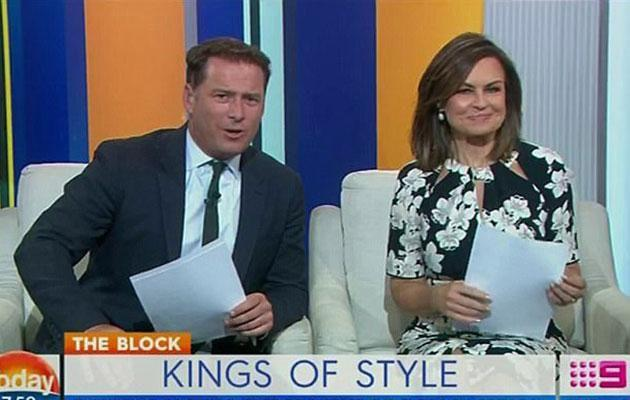 Did Karl take a dig at Lisa leaving during an interview? Source: Channel Nine