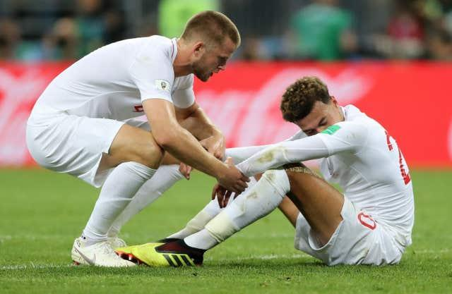 England lost the World Cup semi-final to Croatia in 2018