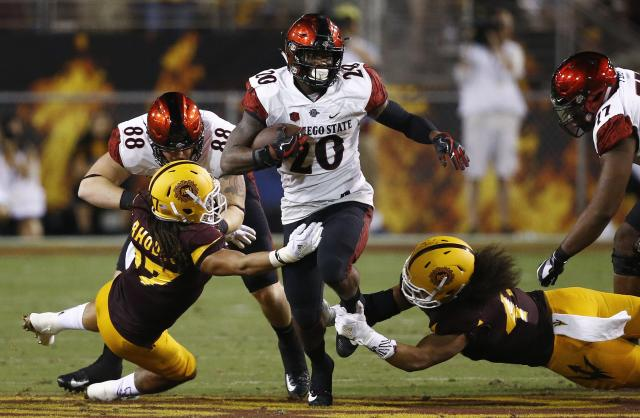 Behind Penny's heroics, San Diego State is 3-0 including victories over Arizona State and Stanford. (AP)