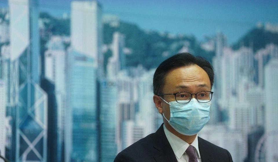 Secretary for the Civil Service Patrick Nip on Thursday told reporters that speculating about his own interest in the city's No 2 job was 'not constructive'. Photo: Sam Tsang