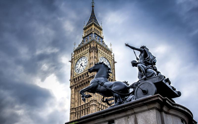 Pit stop: Boudicca, Queen of the Iceni, at London's Westminster Bridge - This content is subject to copyright.