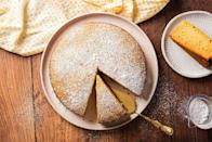 """<p>Honey cakes can tend to be too dry so we ensured this one wouldn't be by adding sour cream, which works to keep the cake tender and moist. Serve it with a cup of tea or <a href=""""https://www.delish.com/uk/cocktails-drinks/a30116467/how-to-make-coffee/"""" rel=""""nofollow noopener"""" target=""""_blank"""" data-ylk=""""slk:coffee"""" class=""""link rapid-noclick-resp"""">coffee</a> and you won't be disappointed. The cake is superb when still slightly warm! </p><p>Get the <a href=""""https://www.delish.com/uk/cooking/recipes/a34503744/classic-honey-cake-recipe/"""" rel=""""nofollow noopener"""" target=""""_blank"""" data-ylk=""""slk:Honey Cake"""" class=""""link rapid-noclick-resp"""">Honey Cake</a> recipe.</p>"""