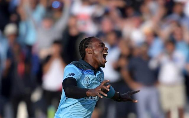 Archer was chosen to bowl the decisive Super Over that won England the World Cup - AFP