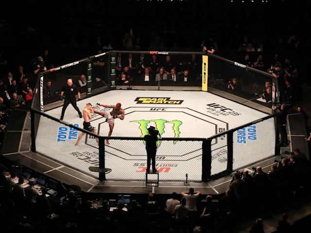 Marc Diakiese and Joe Duffy in action: PA