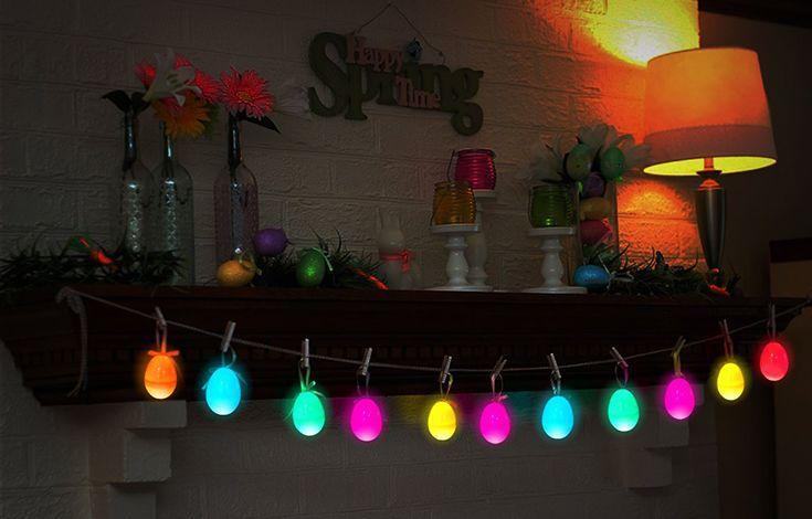 """<p>Close the curtains tight — or wait until nighttime — and let the colorful glow guide the little scouts. You can either buy glow-in-the-dark plastic eggs (these are lit by batteries, so you don't have to worry about charging them in the sun), or you can use <a href=""""https://www.incredibleegg.org/easter/egg-decorating/glow-in-the-dark-eggs/"""" rel=""""nofollow noopener"""" target=""""_blank"""" data-ylk=""""slk:DIY glow-in-the-dark dye"""" class=""""link rapid-noclick-resp"""">DIY glow-in-the-dark dye</a> on real eggs.</p><p><a class=""""link rapid-noclick-resp"""" href=""""https://www.amazon.com/iBaseToy-Easter-Colorful-Plastic-Surprise/dp/B0789GFRGJ?tag=syn-yahoo-20&ascsubtag=%5Bartid%7C10055.g.31346137%5Bsrc%7Cyahoo-us"""" rel=""""nofollow noopener"""" target=""""_blank"""" data-ylk=""""slk:BUY NOW"""">BUY NOW</a></p>"""