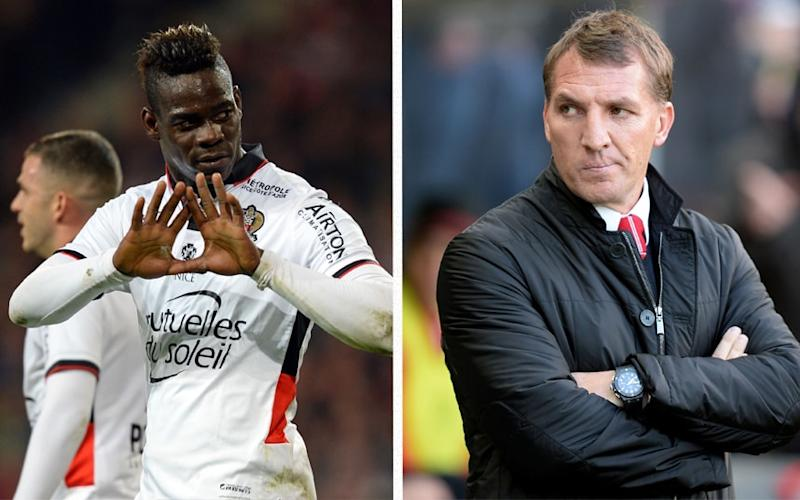 Mario Balotelli responded to Brendan Rodger's on Twitter  - Getty Images