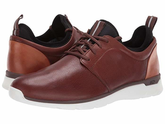 Sleek leather and cushy soles make for a great, comfy work shoes.