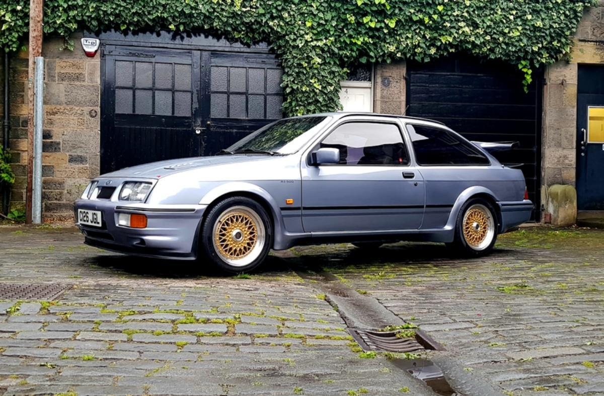 Ford And Ford Auction >> Rare Dtm Tuned Ford Sierra Rs500 Heading For Auction