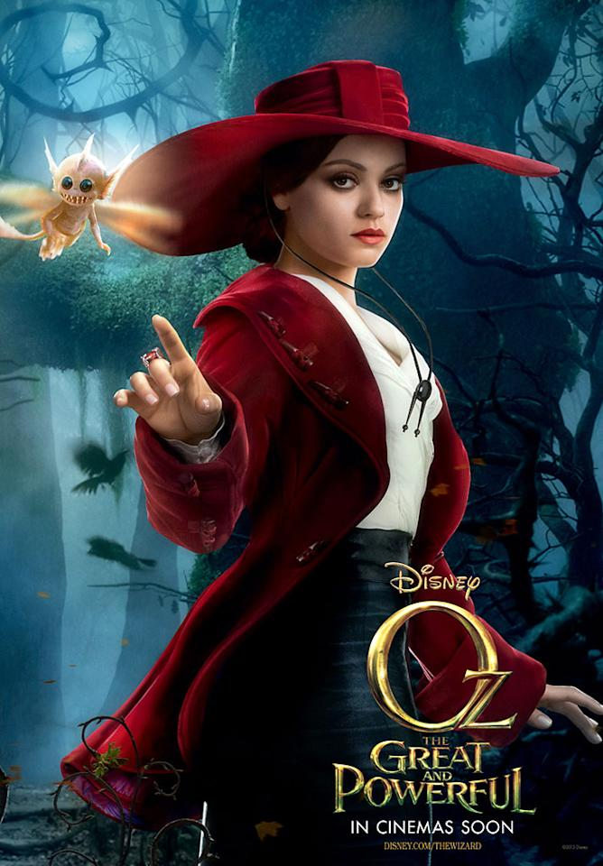 "Mila Kunis in Walt Disney Pictures' ""Oz the Great and Powerful"" - 2013"