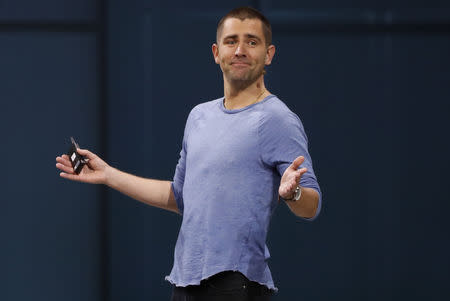 Facebook Chief Product Officer Chris Cox speaks at Facebook Inc's annual F8 developers conference in San Jose