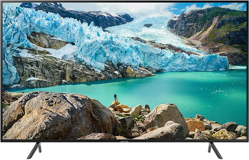 "Samsung 58"" RU7100 4K Ultra HD Smart TV is the perfect Prime Day 2020 find."