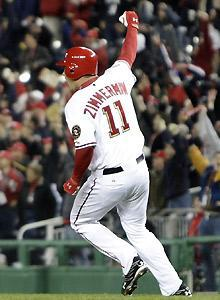 Ryan Zimmerman is one of the Nationals' few established players