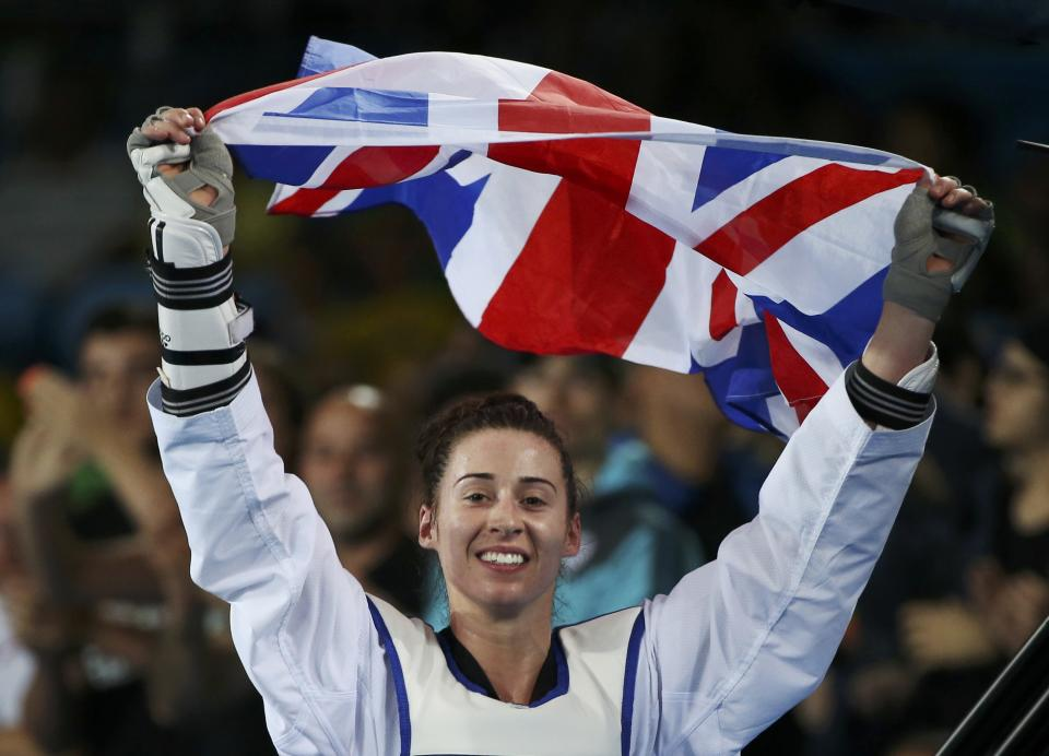 Rio 2016 bronze medallist and avid football fan Bianca Walkden is aiming for top spot at this summer's Tokyo Games © REUTERS