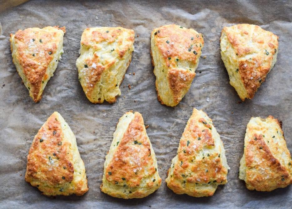 "<p>These savory scones with buttermilk, extra-sharp cheddar and finely chopped chives are delightful. And if you can't decide between sweet or savory for brunch, may we suggest a smear of butter and fig preserves on these toasty scones? </p> <p><a href=""https://www.thedailymeal.com/best-recipes/breakfast-brunch-savory-cheddar-herb-scones?referrer=yahoo&category=beauty_food&include_utm=1&utm_medium=referral&utm_source=yahoo&utm_campaign=feed"">For the Savory Cheddar Herb Scones recipe, click here</a>.</p>"