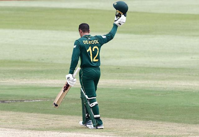 South Africa's Quinton de Kock is a key man at the top of the batting order (AFP Photo/Anesh Debiky)