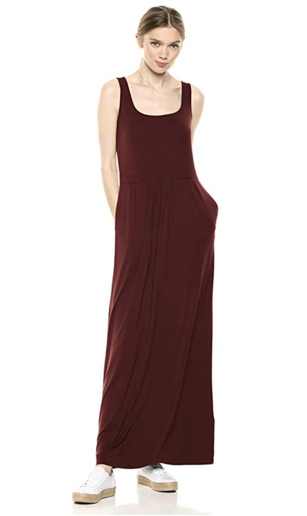 <p>Is there anything comfier than this <span>Daily Ritual Jersey Sleeveless Maxi Dress</span> ($30)? The pockets are just the cherry on top of the cake.</p>