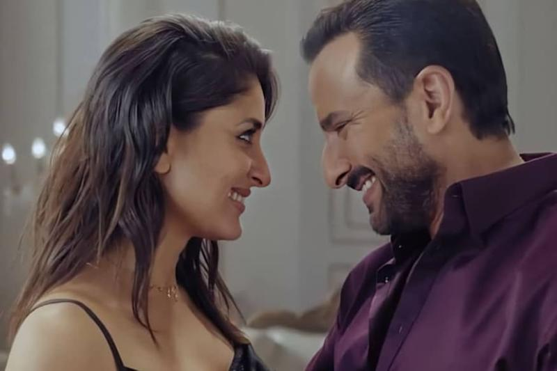 Saif Ali Khan and Kareena Kapoor Look Stunning as They Strike a Happy Pose in This Unseen Pic