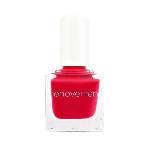 "<h3><strong>Cherry Red</strong></h3> <br>Nail pro Nadine Abramcyk tells us that we'll likely be seeing a color shift from the pastels and neutrals to bright red pre-summer. ""I think it's because a classic red mani looks <em>so</em> good in the sun,"" she says. ""This shade in particular is our best-selling cherry — and everyone loves it this time of year.""<br><br><strong>Tenoverten</strong> Nail Polish in Ludlow, $, available at <a href=""https://go.skimresources.com/?id=30283X879131&url=https%3A%2F%2Ftenoverten.com%2Fproducts%2F015-ludlow"" rel=""nofollow noopener"" target=""_blank"" data-ylk=""slk:Tenoverten"" class=""link rapid-noclick-resp"">Tenoverten</a><br>"