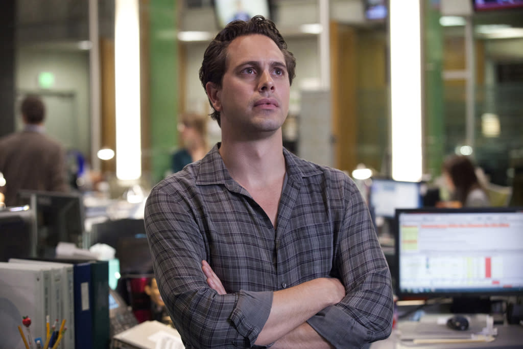 "Thomas Sadoski in ""The Newsroom"" on HBO."