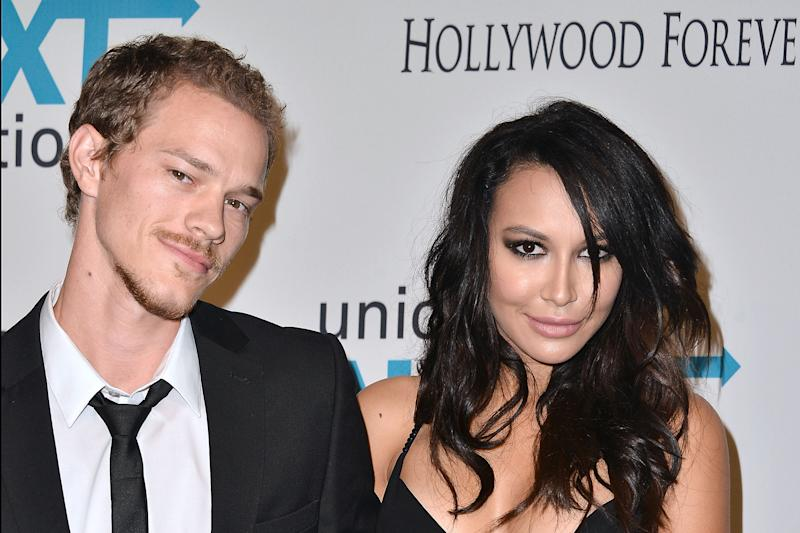 LOS ANGELES, CA - OCTOBER 30: Ryan Dorsey and Naya Rivera attend the UNICEF's Next Generation 2nd annual UNICEF Masquerade Ball on October 30, 2014 in Los Angeles, California. (Photo by Araya Diaz/WireImage)