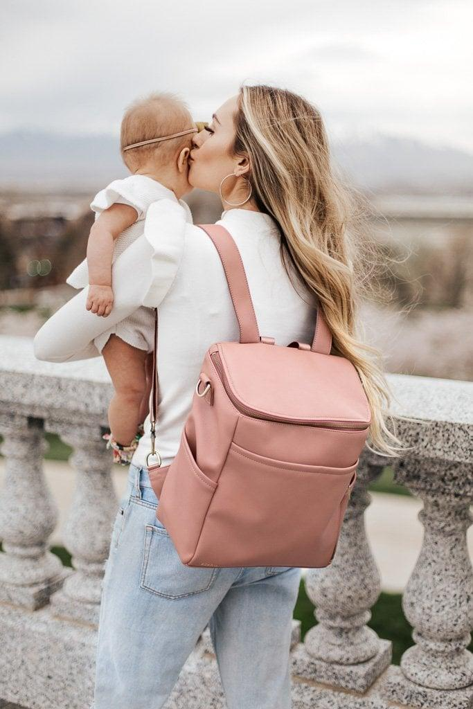 <p>The <span>La Mère Backpack</span> ($155) is surprisingly spacious, with five inside pockets for maximum storage.</p>